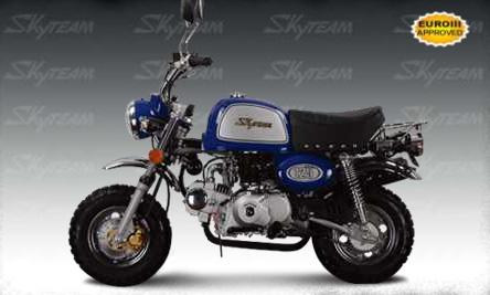 мотоциклы Skyteam мопеды Skyteam