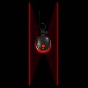 Задний фонарь с лазерной габаритной подсветкой.